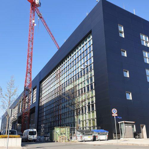 Fassaden- und Dachsanierung Geb. 173