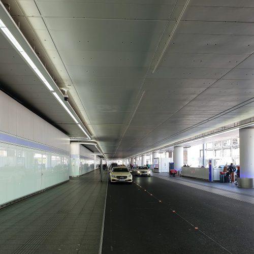 Neugestaltung Ankunft Terminal 1