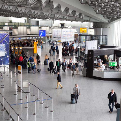 Modernisierung und Brandschutzsanierung Terminalhallen A-C Terminal 1